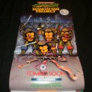 Teenage Mutant Ninja Turtles III Poster - Nintendo Power December, 1991 - Never Used
