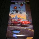 Super Spy Hunter Poster - Nintendo Power June, 1991 - Never Used