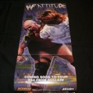 WF Attitude Poster - Nintendo Power July, 1999 - Never Used
