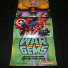 War of the Gems Poster - Nintendo Power March, 1996 - Never Used