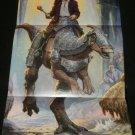 Dinotopia Poster - Nintendo Power April, 2002 - Never Used