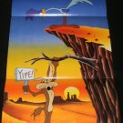 Death Valley Rally Poster - Nintendo Power October, 1992 - Never Used