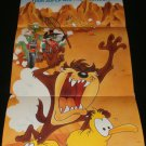 Taz-mania Poster - Nintendo Power March, 1993 - Never Used