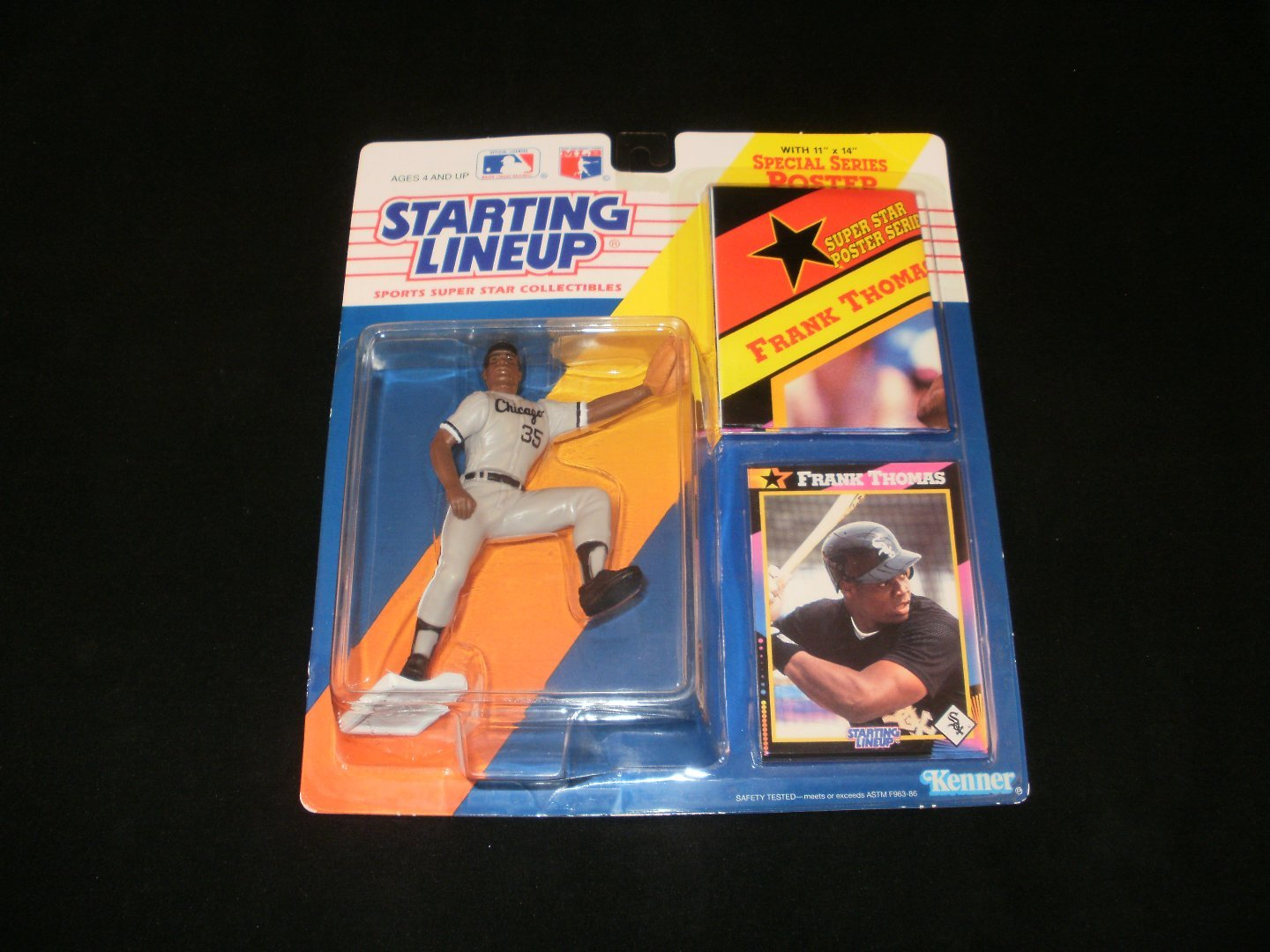 Starting Lineup Frank Thomas Chicago White Sox Figurine - Kenner 1992 - Brand New