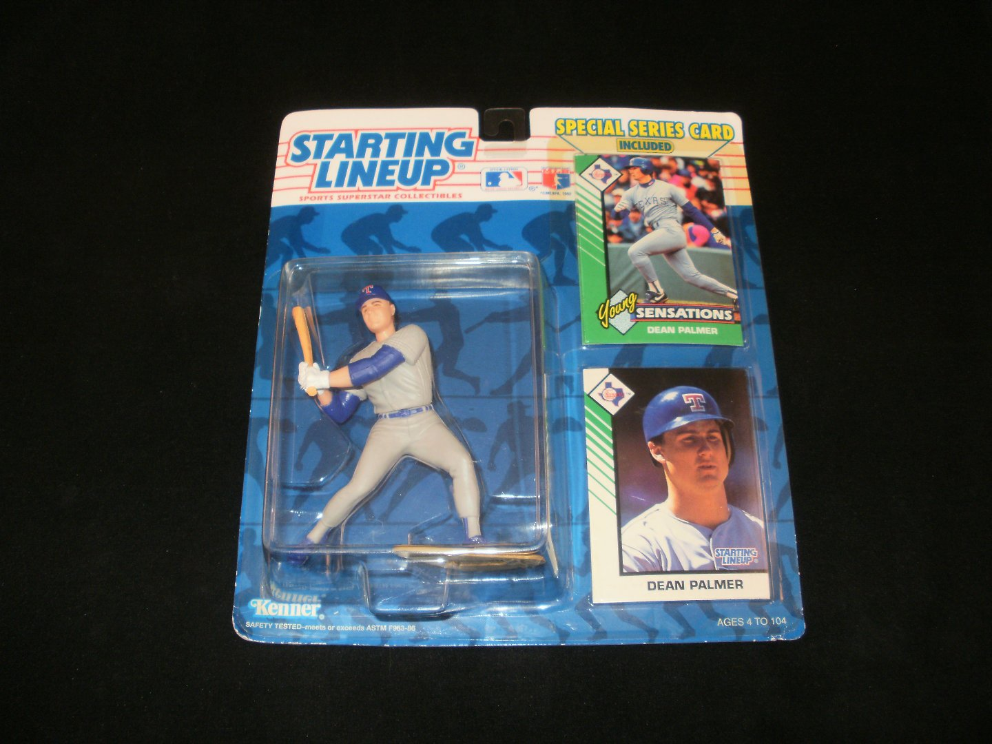 Starting Lineup Dean Palmer Texas Rangers Figurine - Kenner 1993 - Brand New