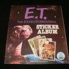 ET Sticker Album - Topps 1982