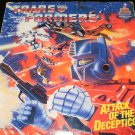 Transformers Attack of the Decepticons - LP Record - Kid Stuff Records 1985