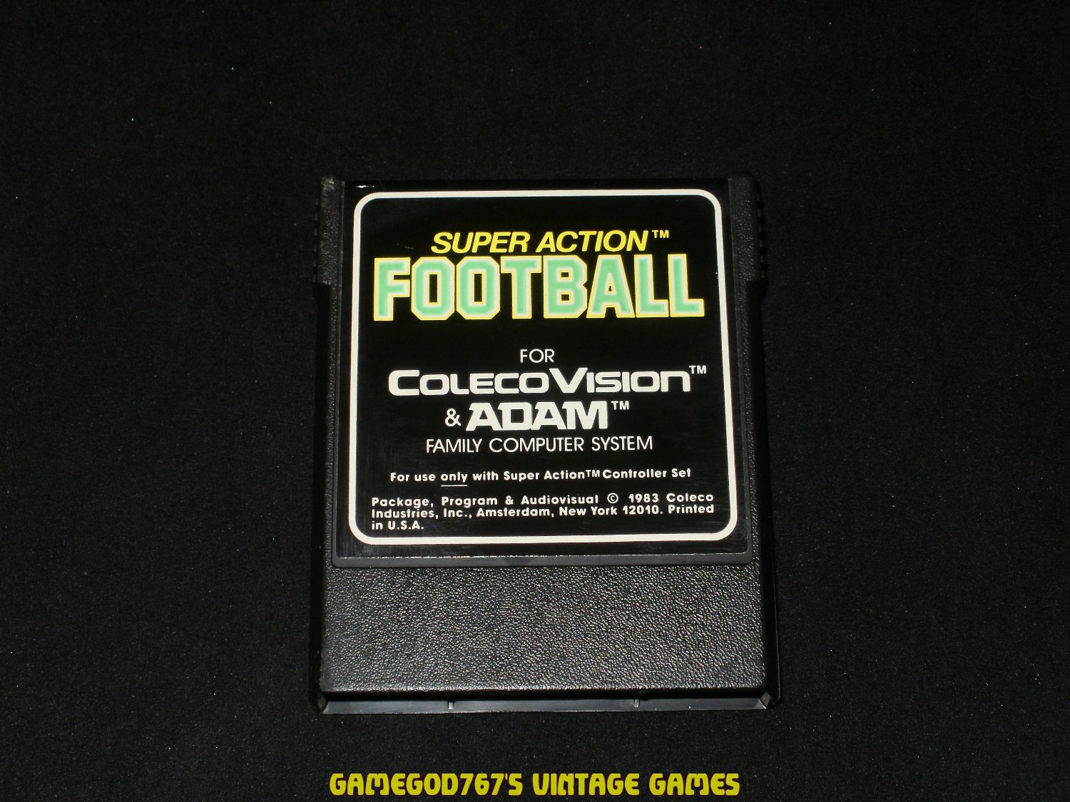 Super Action Football - Colecovision