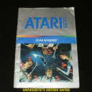 Star Raiders - Atari 5200 - Manual Only