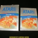 Soccer - Atari 5200 - Manual & Box Only