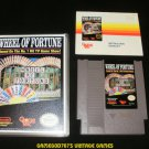 Wheel of Fortune - Nintendo NES - With Manual & New Custom Case