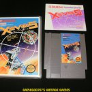 Xevious - Nintendo NES - With Manual & New Custom Case