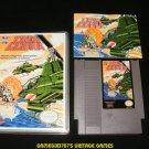 Twin Cobra - Nintendo NES - With Manual & New Custom Case