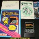 Carnival - Mattel Intellivision - Complete CIB