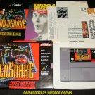 Wild Snake - SNES Super Nintendo - Complete CIB