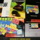 Tetris Attack - SNES Super Nintendo - Complete CIB
