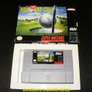 HAL's Hole-In-One Golf - SNES Super Nintendo - With Box