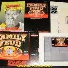 Family Feud - SNES Super Nintendo - Complete CIB