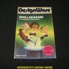 Spellakazam - Apple II Plus - Complete CIB - Rare