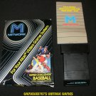 Super Challenge Baseball - Atari 2600 - With Box and Catalog