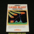 Laser Blast - Atari 2600 - Manual Only