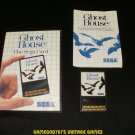 Ghost House - Sega Master System - Complete CIB