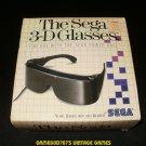 SegaScope 3-D Glasses - Sega Master System - With Box - Extremely Rare