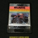 Atlantis - Atari 2600 - Night Scene Label