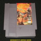 Demon Sword - Nintendo NES