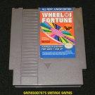 Wheel of Fortune Junior Edition - Nintendo NES