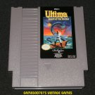 Ultima Quest of the Avatar - Nintendo NES - With Cartridge Sleeve