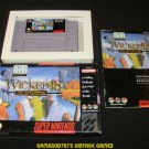 Wicked 18 - SNES Super Nintendo - Complete CIB