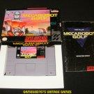 Mecarobot Golf - SNES Super Nintendo - Complete CIB
