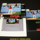 True Golf Classics Waialae Country Club - SNES Super Nintendo - Complete CIB