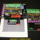 PGA Tour Golf - SNES Super Nintendo - Complete CIB