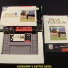 PGA Tour 96 - SNES Super Nintendo - Complete CIB
