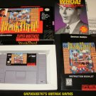 BreakThru - SNES Super Nintendo - Complete CIB