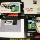 PGA European Tour - SNES Super Nintendo - Complete CIB
