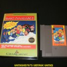 Kung-Fu Heroes - Nintendo NES - With New Bit Box Case