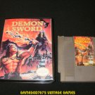 Demon Sword - Nintendo NES - With New Bit Box Case