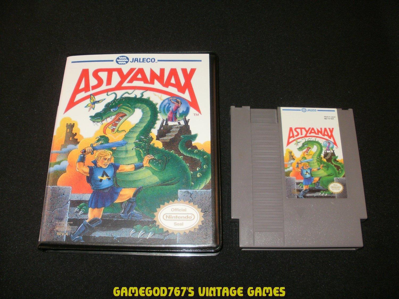 Astyanax - Nintendo NES - With New Bit Box Case
