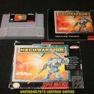 MechWarrior - SNES Super Nintendo - Complete CIB