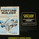 Fortune Builder - Colecovision - With Manual - Rare