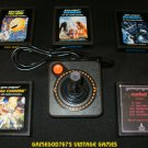 Refurbished Atari 2600 Official Joystick With 5 Games