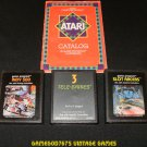 Racing Game Pack - Atari 2600 - 3 Games & Catalog