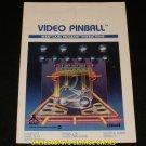 Video Pinball - Atari 2600 - Manual Only