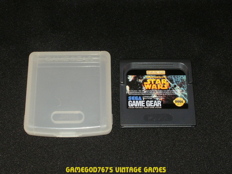 Star Wars - Sega Game Gear - With Case