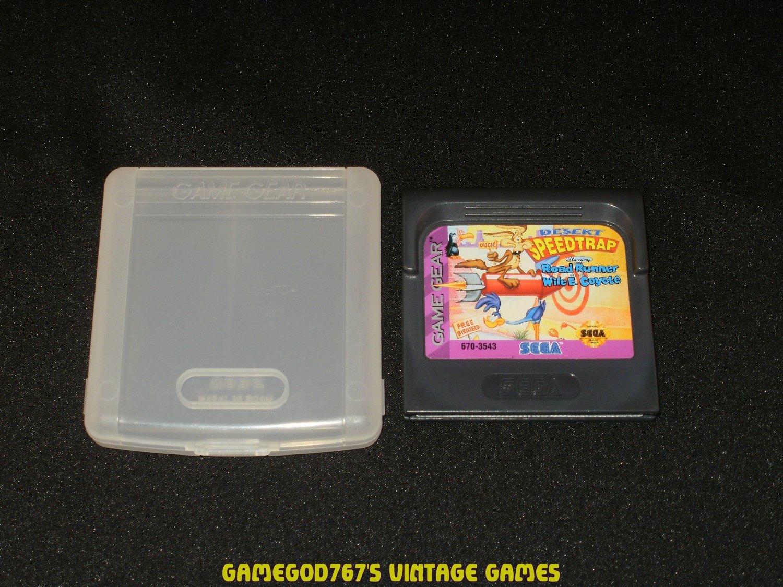 Desert Speedtrap - Sega Game Gear - With Case