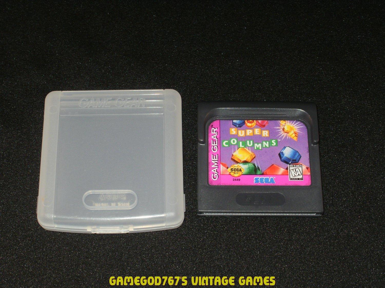 Super Columns - Sega Game Gear - With Case