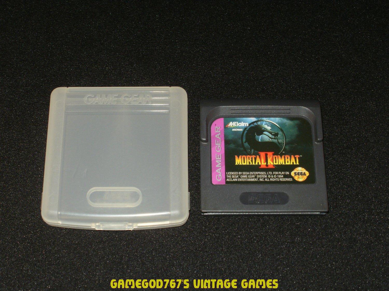 Mortal Kombat II - Sega Game Gear - With Case